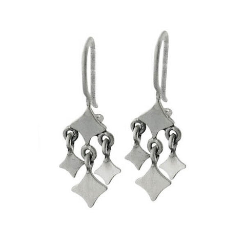 Jane Diaz Diamond Dangles Earrings