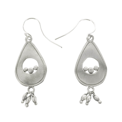 Julia Britell Tear Drop With Petite Dangles Earrings