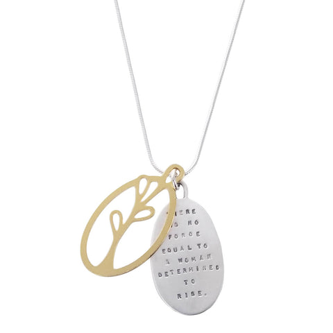 Kathy Bransfield Determined Woman Necklace