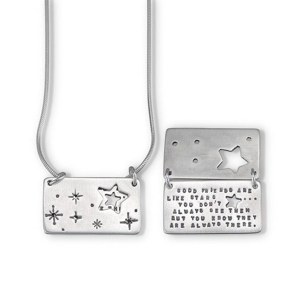 "Kathy Bransfield ""Friends, Starry Night"" Necklace"
