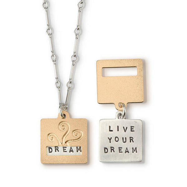 "Kathy Bransfield ""Live Your Dream"" Necklace"