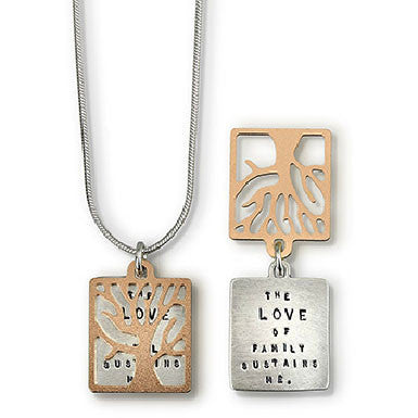 Kathy Bransfield The Love Of Family Necklace
