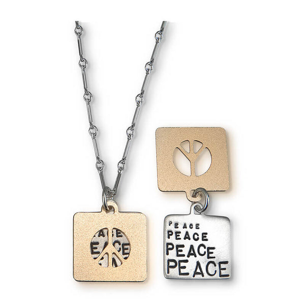 Kathy Bransfield Peace Necklace