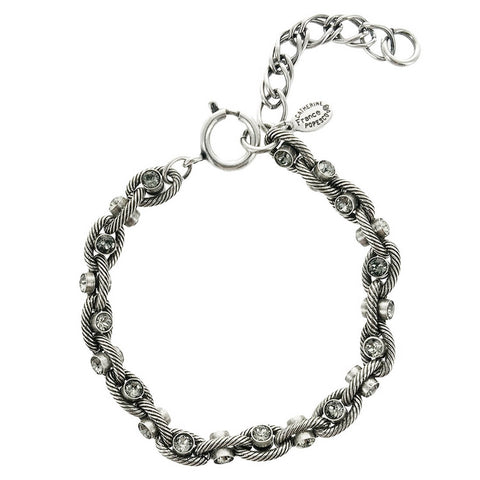 La Vie Parisienne Black Diamond Crystal Bracelet