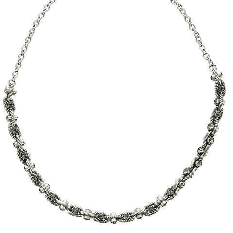 La Vie Parisienne Crystal Chain Necklace