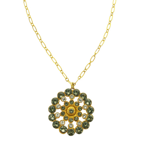 La Vie Parisienne Crystal Snowflake Necklace