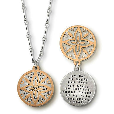 Kathy Bransfield Leave A Trail Necklace