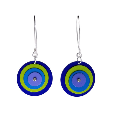 Lenel Designs Mia Four Layered Circle Earrings