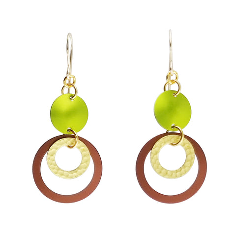 Lenel Designs Naomi Mini Hoop Drop Earrings