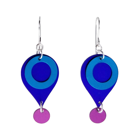 Lenel Designs Vivian Layered Droplet Earrings