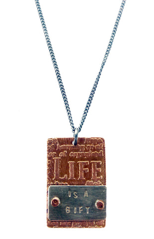 Life is a Gift Necklace
