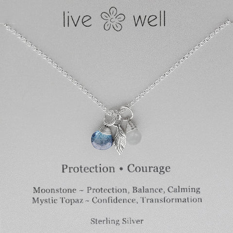Protection And Courage Necklace