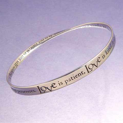 Love Is Patient Love Is Kind Bracelet