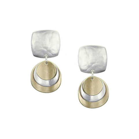 Marjorie Baer Appealing Curved Layers Post Earrings