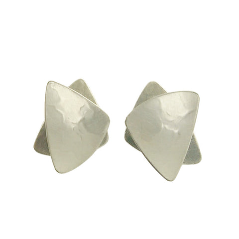 Marjorie Baer Overlapping Triangle Earrings