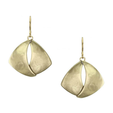 Marjorie Baer Overlapping Wings Earrings
