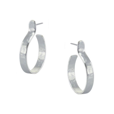 Marjorie Baer Small Post Hoop Earrings
