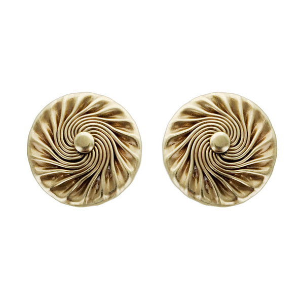 Marjorie Baer Spiraling Sun Post Earrings
