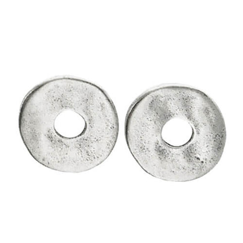 Metal Pointus Maya Post Earrings