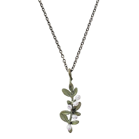 Michael Michaud Flowering Thyme Pendant Necklace