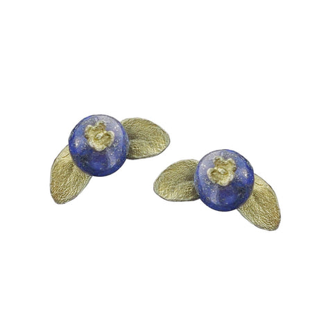 Michael Michaud Blueberry Post Earrings