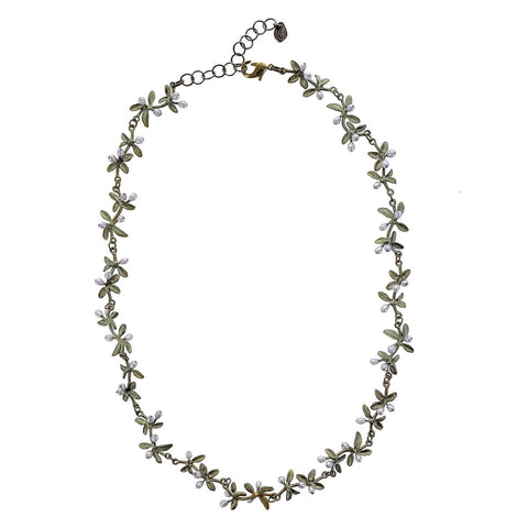 Michael Michaud Flowering Thyme Statement Necklace