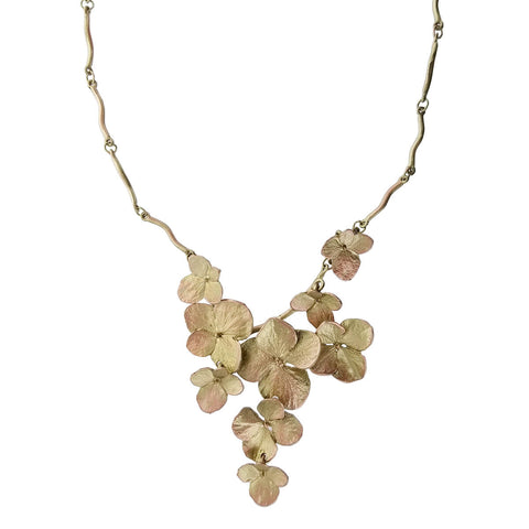 Michael Michaud Hydrangea Necklace