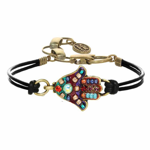 Michal Golan Colorful Hamsa Bracelet