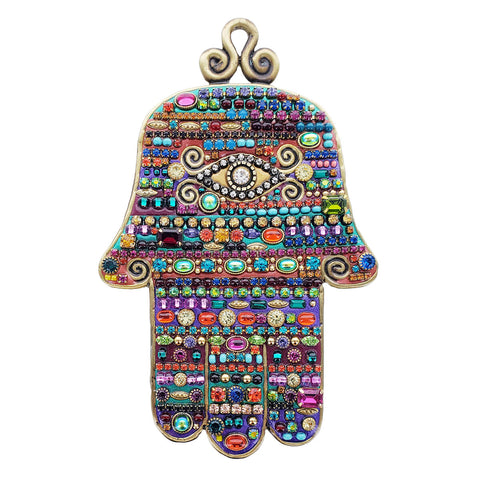 Michal Golan Fabulous Multi Color Wall Hamsa