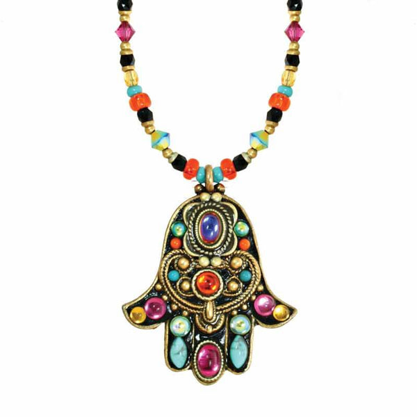 Michal Golan Kaleidoscope Hamsah Necklace