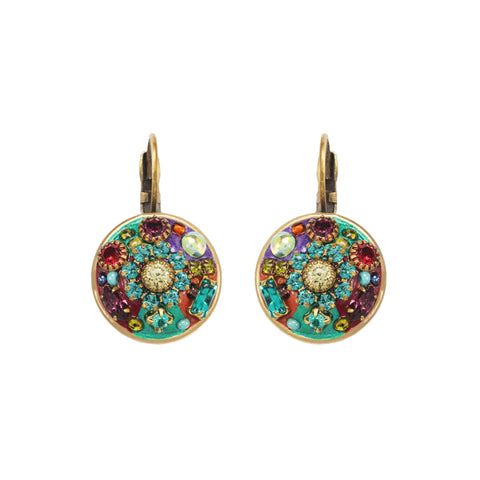 Michal Golan Multi Bright Circle Earrings