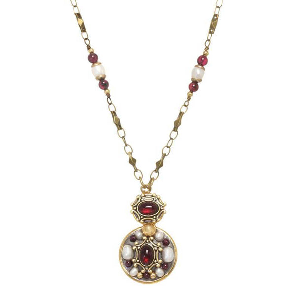 Michal Golan Victorian Double Round Necklace