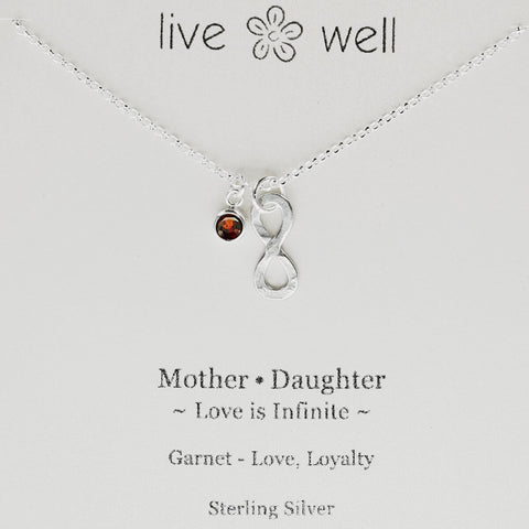 Mother Daughter Infinite Love Necklace