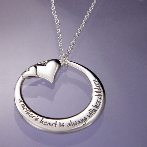 A Mothers Heart Necklace
