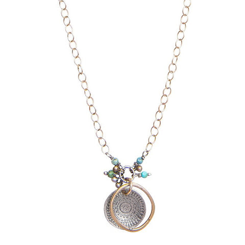 Original Hardware Wanderlust Necklace Turquoise