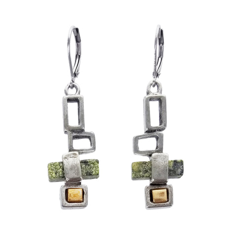 Osmose Cascading Squares Earrings