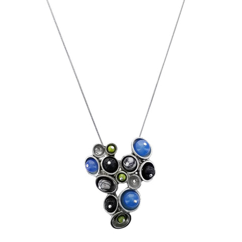 Osmose Gemstone Pods Pendant Necklace