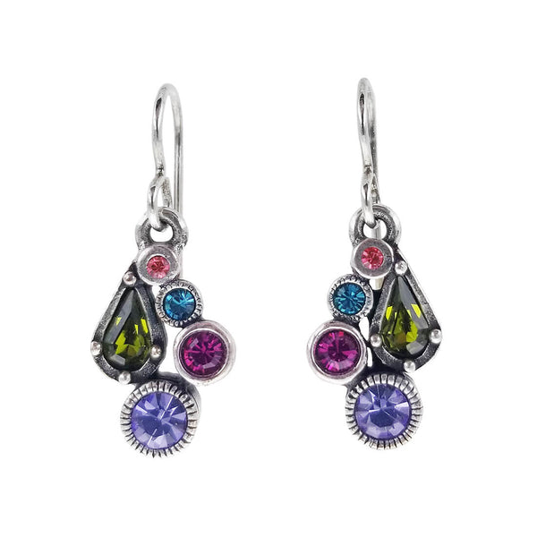 Patricia Locke Colorful Bitty Celebration Earrings