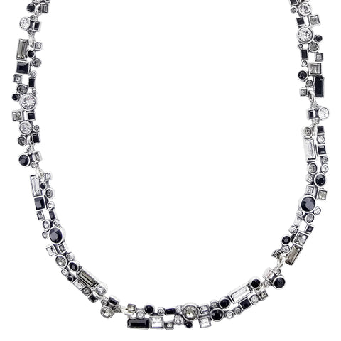 Patricia Locke Confetti Black And White Necklace