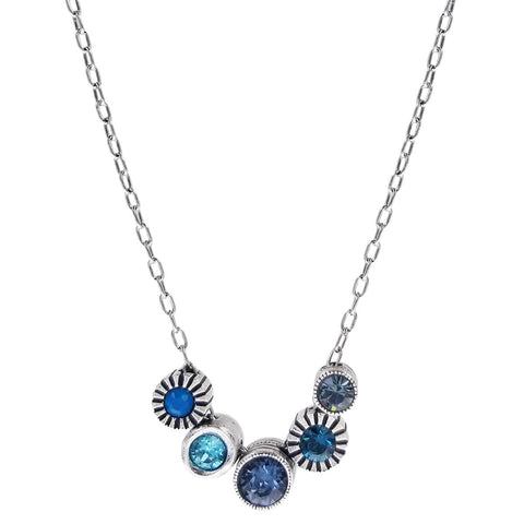 Patricia Locke Pennies From Heaven Bermuda Blue Necklace