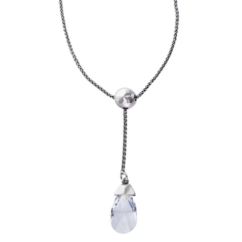 Potluck Paris Cyclope Crystal Drop Necklace