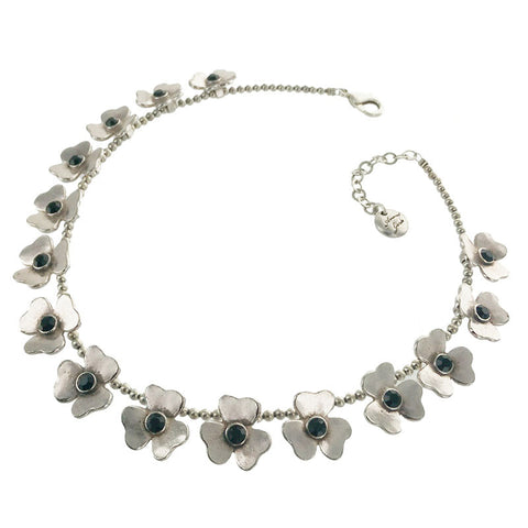 Parisian Flower Necklace