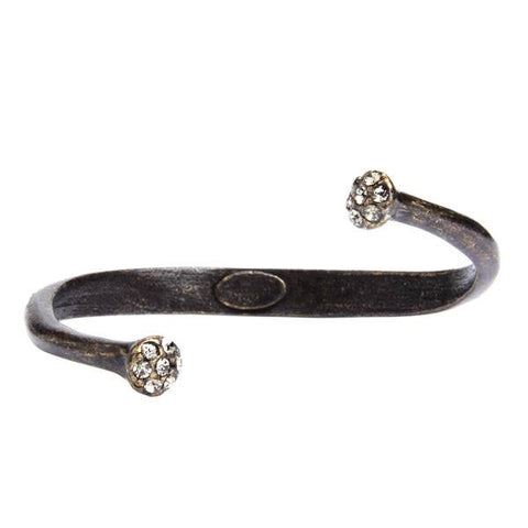 Rebel Designs Dlack Diamond Tipped Bangle