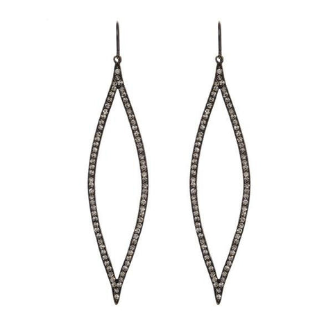 Rebel Designs Sleek Marquis Earrings