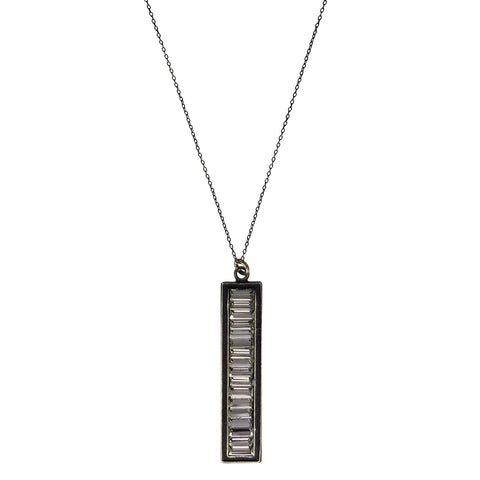 Rebel Designs Petite Crystal Reflecting Necklace