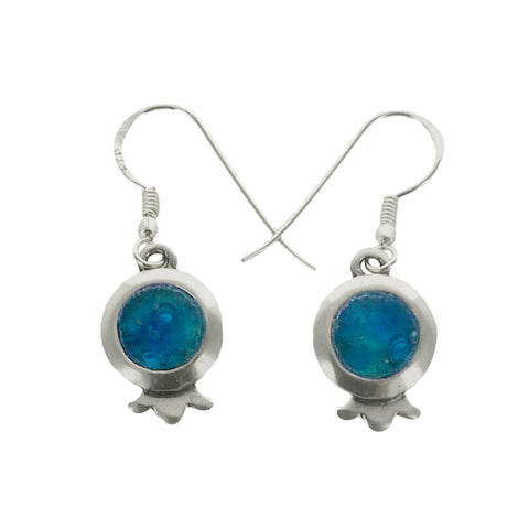 Roman Glass Petite Pomegranate Earrings