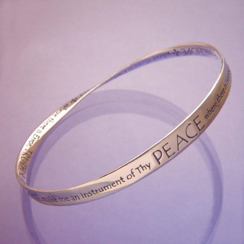 St. Francis Prayer Peace Bracelet