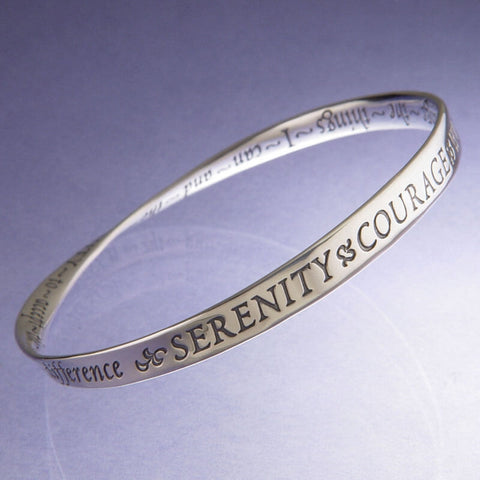 Serenity Prayer Mobius Courage Bracelet