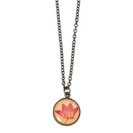 Shari Dixon Pink Cornflower Necklace