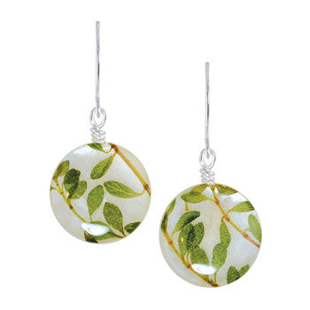 Shari Dixon Round Thyme Earrings